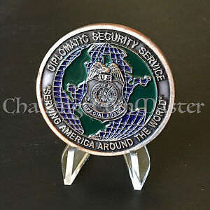 Department of State Diplomatic Security Service Special Agent Challenge Coin