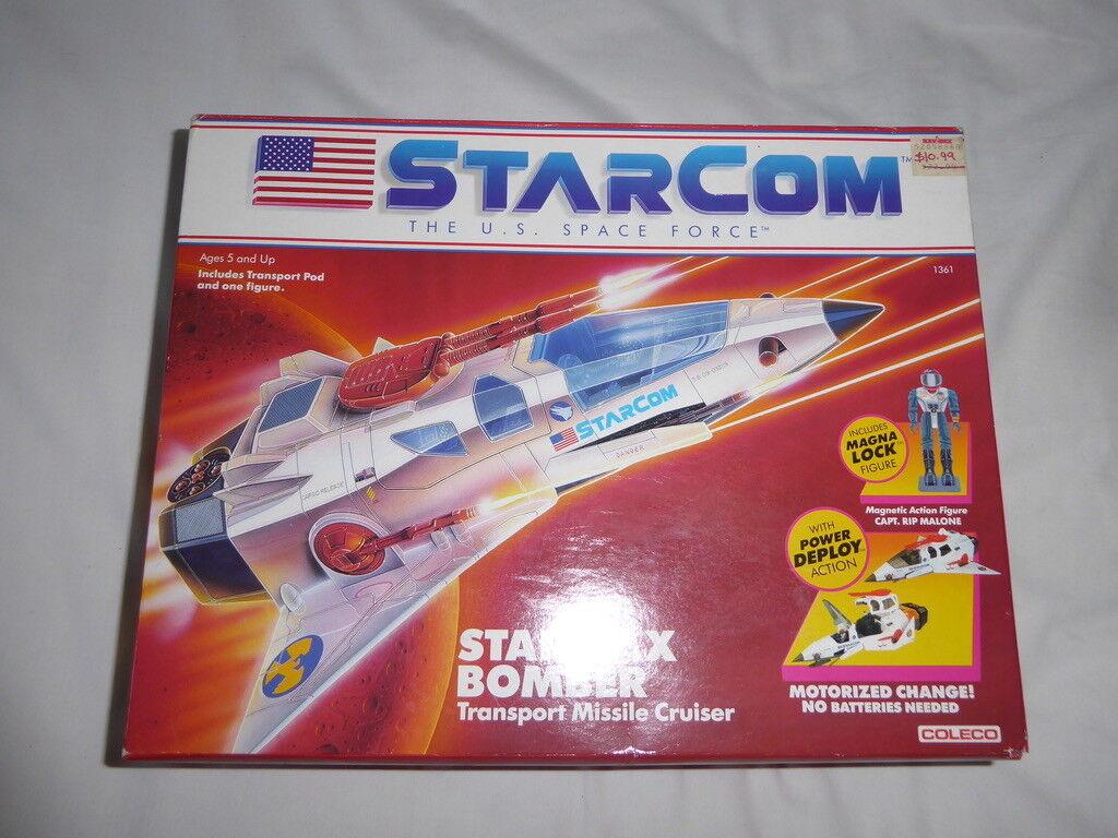 COLECO STARCOM STARMAX BOMBER MISSILE CRUISER 1986 - ULTRA RARE - NEW (UNOPENED)