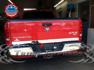 fit-2002-08-Dodge-Ram-1500-2500-Tailgate-Trim-Stainless-Steel-Molding-Cover