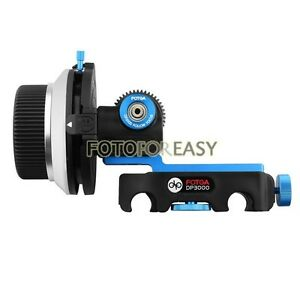 FOTGA-DP3000-DSLR-Quick-Release-Clamp-A-B-Stops-Follow-Focus-FF-for-15mm-Rod-Rig