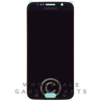OEM Galaxy Black LCD for S6 Assembly Sapphire Samsung Digitizer p88wUqP