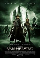 VAN HELSING MOVIE POSTER 2 Sided ORIGINAL FINAL 27x40 KATE BECKINSALE