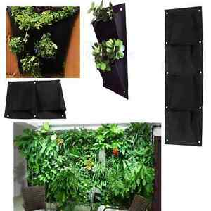 Image Is Loading Indoor Outdoor Wall Balcony Herbs Garden Hanging Planter