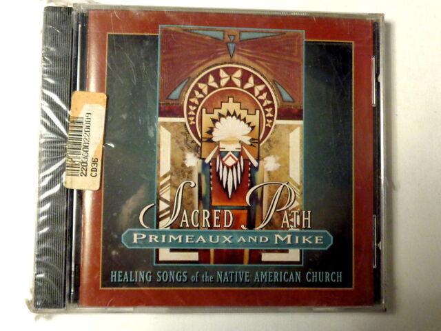 PRIMEAUX AND MIKE  -  SACRED PATH  -  CD  1997  NUOVO E SIGILLATO