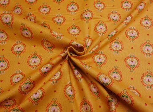 Lewis et Irene Maya Monkey FOLK Floral Bright Boho Coton Patchwork Tissu