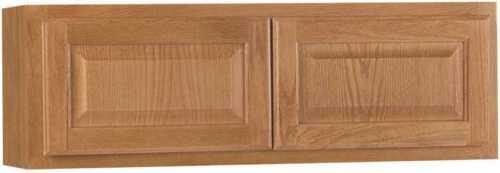 "Hampton Bay 36/"" x 12/"" Raised Panel Oak Kitchen Bridge Cabinet KW3612-MO"