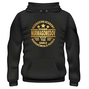 Khabib nurmagomedov KICK BOXING MMA ACADEMY Felpa con Cappuccio