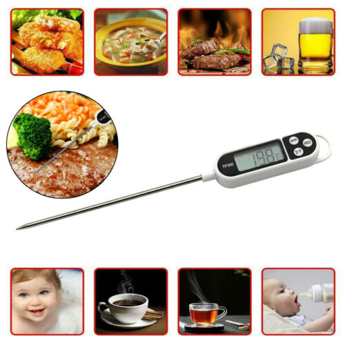 Digital Thermometer For Meat Water Milk Cooking Food Probe BBQ Kitchen Tools