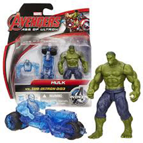 Action Figures assorties parfait état environ 6.35 cm Marvel Avengers Age of Ultron 2.5 in