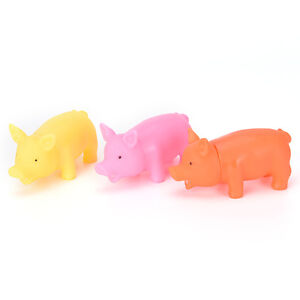 3Pcs-Rubber-Pet-Dog-Puppy-Pig-Shape-Chew-Play-Toy-Squeaker-Squeaky-With-Sound-SK