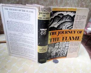 THE JOURNEY Of THE FLAME,1933,Antonio Fierro Blanco,Illust,DJ