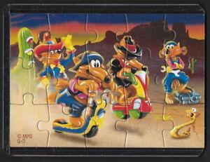 Jouet kinder puzzle 2D DIE MOTOCOYOTEN Q-O Allemagne 2004 + étui PQKLYLxy-09094321-170092473