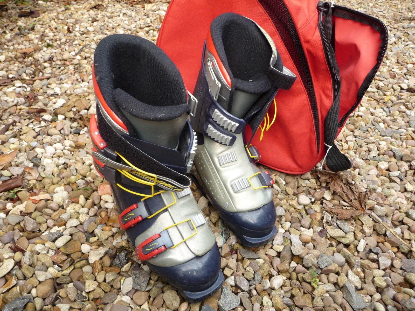 Ski  boots NORDICA greenECH 55 size 7 eu 41 + red bag