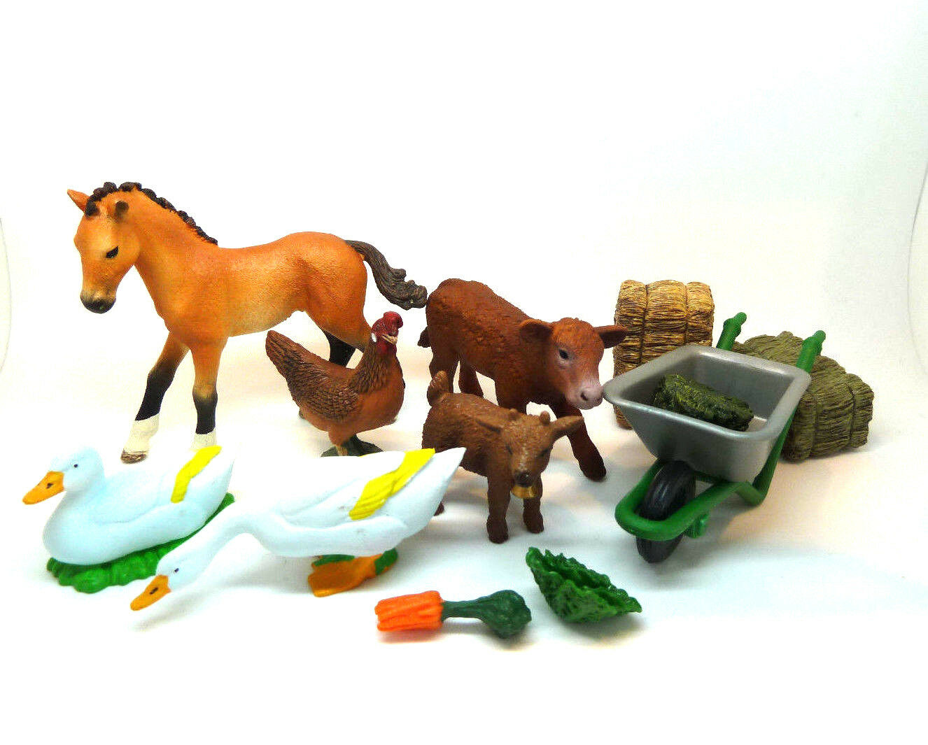 305) Schleich Und Andere Game Set Farm Holidays Farm Schleichtiere