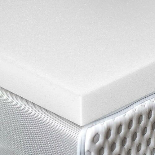 Red Nomad Ultra Premium Visco Elastic Memory Foam Mattress Pad Bed Topper