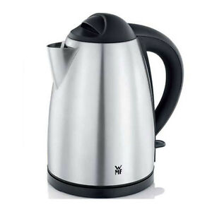 WMF Bueno Wasserkocher mit 1,7L Fassungsvermögen Edelstahl-schwarz Kabellos