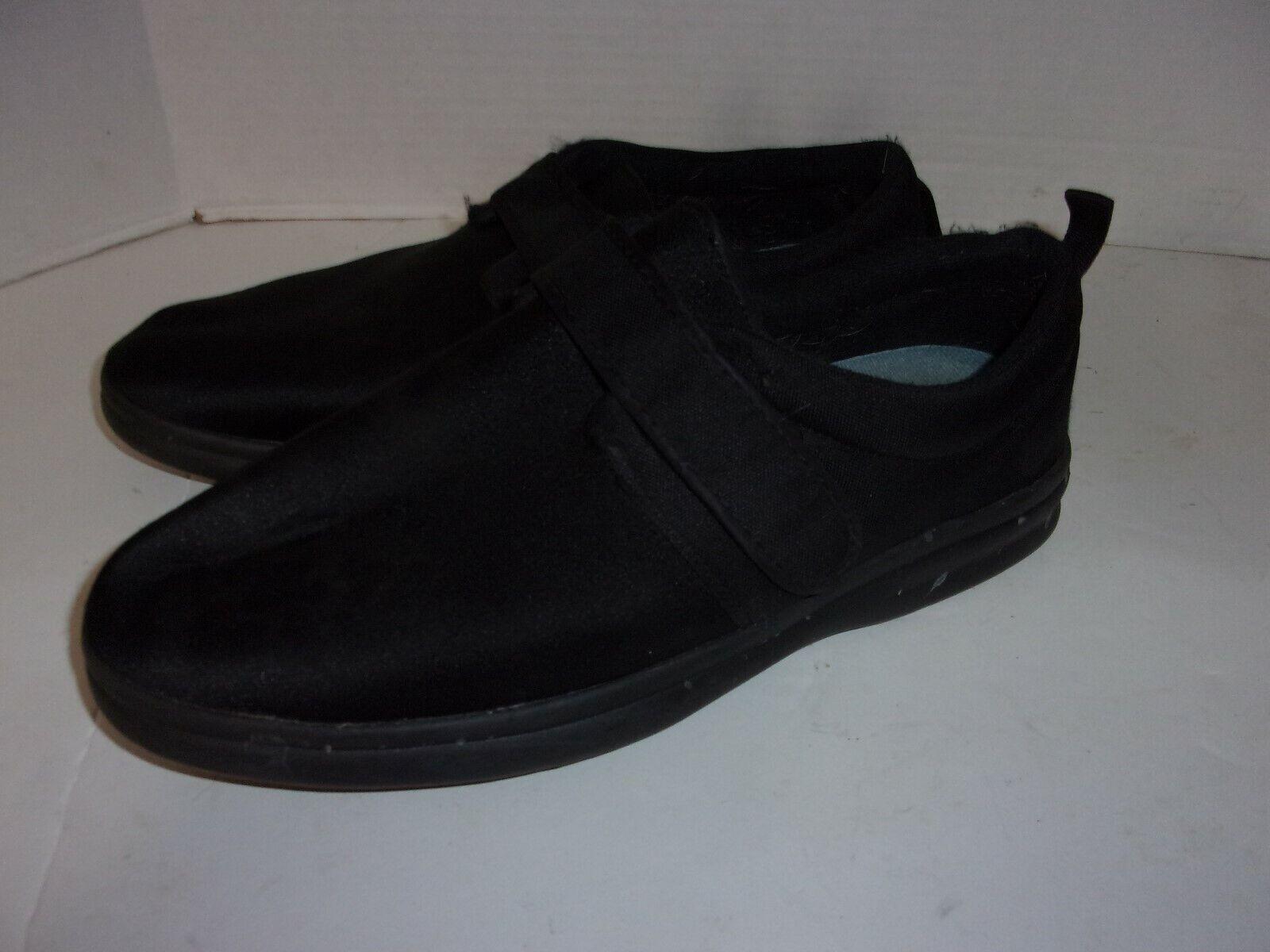 Bell-Horn Hudson Black Mens Therapeutic Diabetic Extra Depth Shoe Lycra 14M
