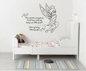 image is loading tinkerbell there is freedom wall sticker decal decor
