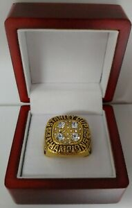 Wayne Gretzky - 1988 Edmonton Oilers Stanley Cup Hockey Ring With Wooden Box