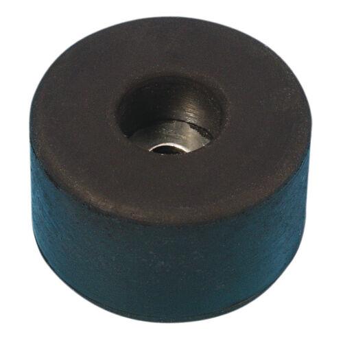 Grundpreis 0,65€//Stk. Vpe 4 Stück Gummifuß 38x15mm