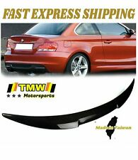 Stock ABS P Look Rear Trunk Spoiler Wing For 2007-13 BMW 1-series E82 Coupe