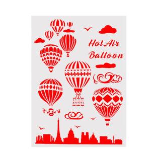 Schablone Für Wandmalerei Scrapbooking Stempel Dekor Ballon