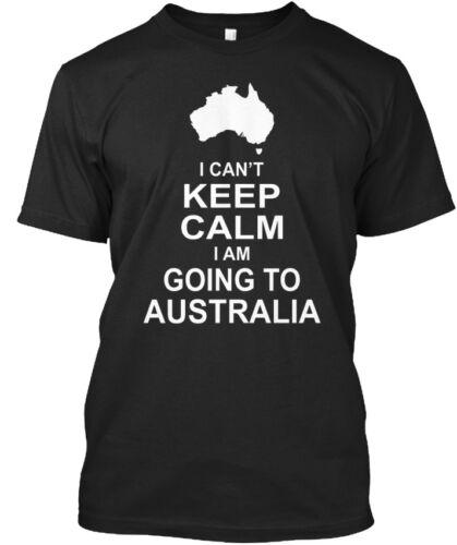 Can/'t Keep Calm Going Standard Unisex T-shirt I Am Go To Australia 071