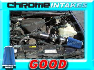 Filter BCP BLACK 94-96 Impala Fleetwood Roadmaster 4.3L 5.7L V8 Air Intake Kit