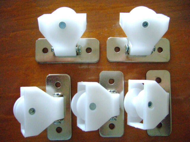 Roman Amp Austrian Blind White Based Swivel Pulley Parts X 5