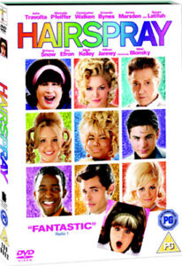Hairspray-DVD-2007-John-Travolta-Shankman-DIR-cert-PG-NEW-Great-Value