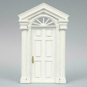 Luxury-1-12-Dollhouse-Miniature-Vintage-Mini-Furniture-Wooden-ss-DIY-Window-V2D6