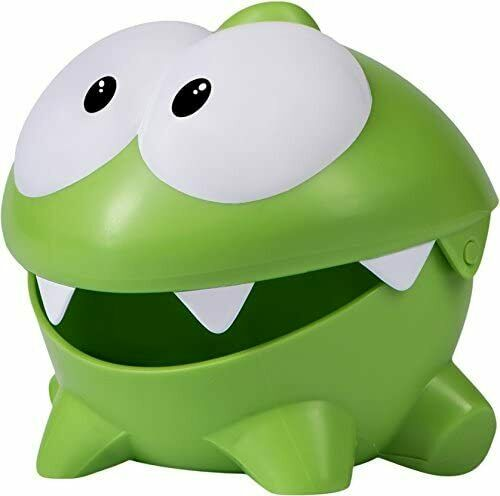 Om Nom СUT THE ROPE PLASTIC TOY Fruit Lunch box Om Nom open mouth toys Nommies