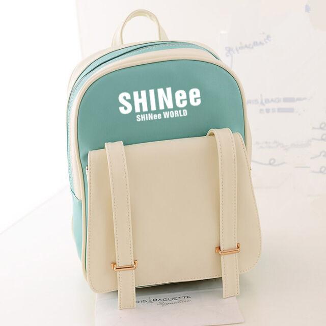 SHINEE ONEW JONGHYUN MINHO TAEMIN KEY BAG SCHOOLBAG BACKPACK KPOP NEW