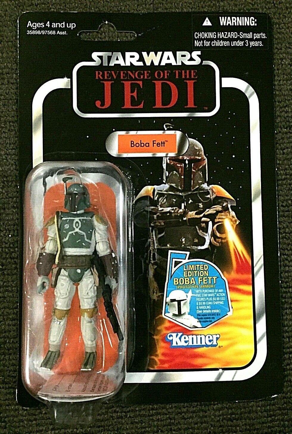 Boba Fett VC09 Star Wars The Vintage Collection Revenge of the Jedi Rare Variant