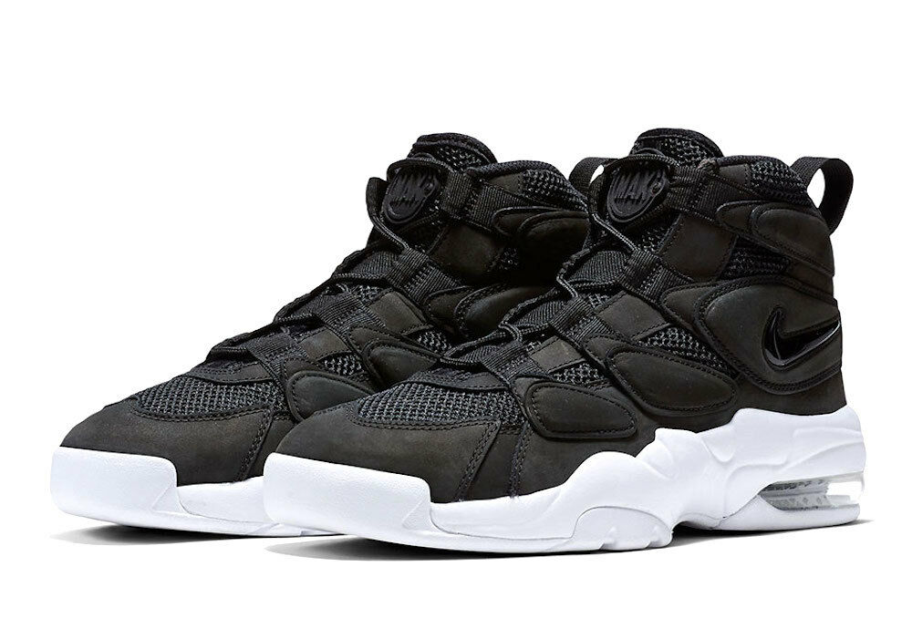 Men's Nike Air Max 2 Uptempo Quick Strike Athletic Basketball Sneaker 919831 001 Casual wild