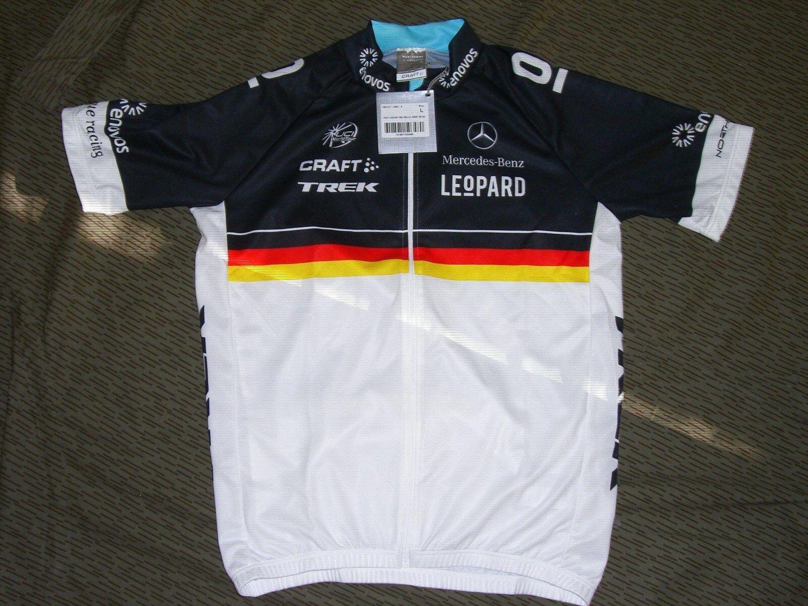 Set Leopard Trek Hose&Trikot Deutscher Meister Tour de France Lance Armstrong