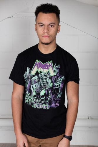 Officiel T-shirt Unisexe Gravure Havok temps Conundrum bande de metal