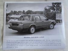 Volvo 740 GLE 16 Valve press photo brochure c1989