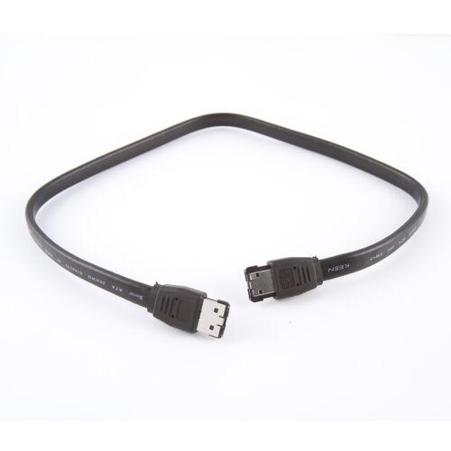 100CM External SATA ESATA to ESATA M//M Cable Cord For PC Computer Motherboard