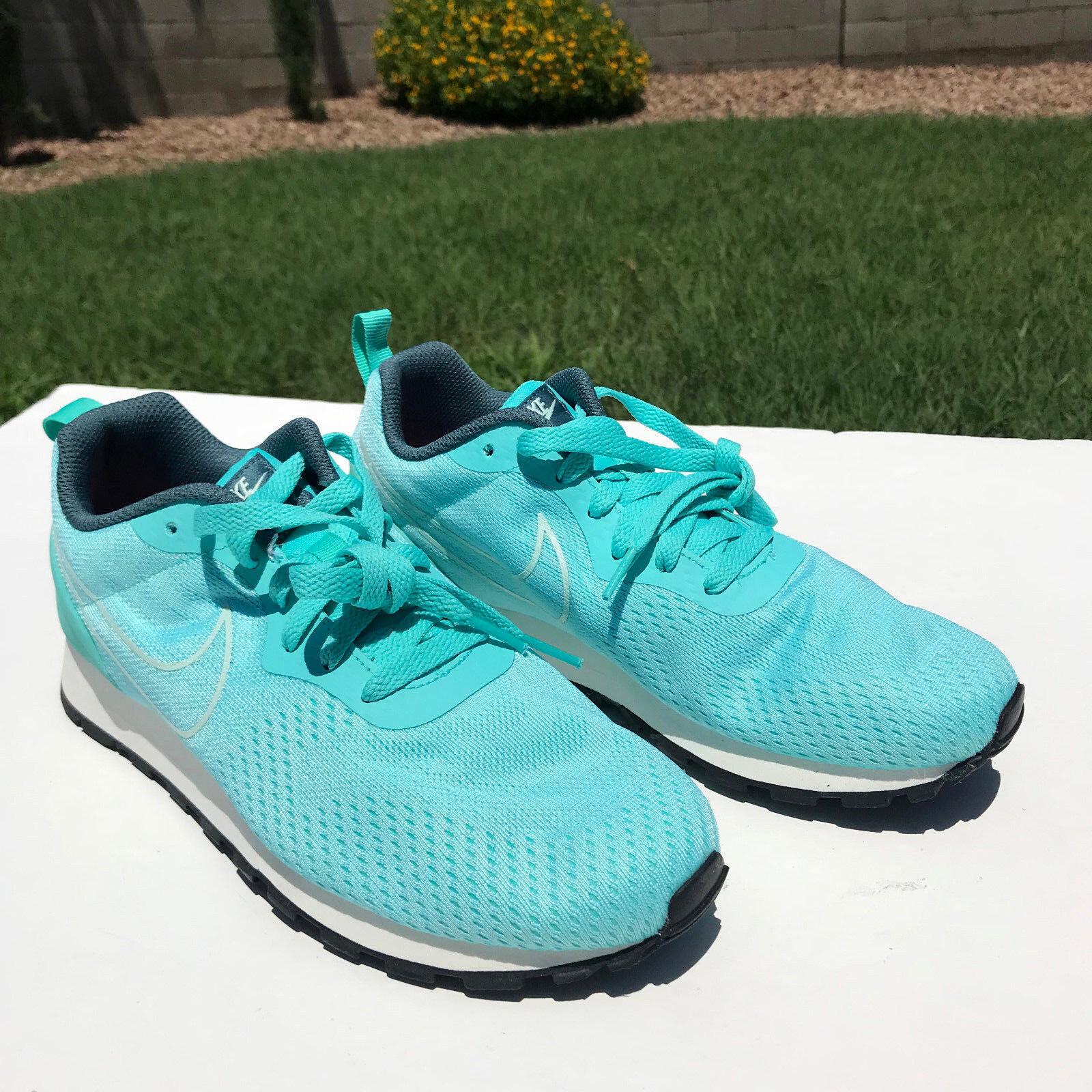 Nike Free MD Runner Eng Mesh Running Shoes Sz 7.5 Aurora Green 916797-300 NEW