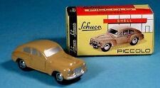 wonderful HO-modelcar VOLVO PV 544 SCHUCO PICCOLO - brownbeige - 1/90 HO