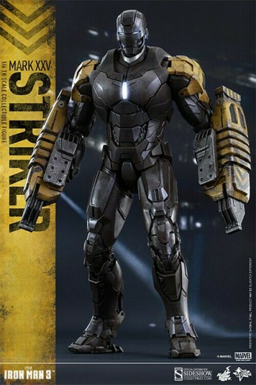 Iron Man 3 Movie Master Stricker Collectable Figur [Mark XXV]