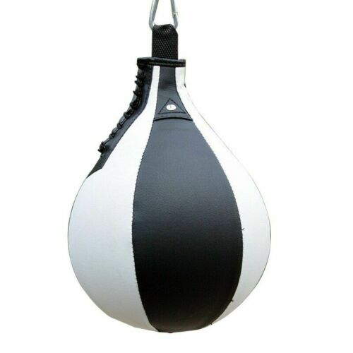 Punching Bag Speed Hanging Ball Pear Shape PU Boxing Training Fitness Sandbag