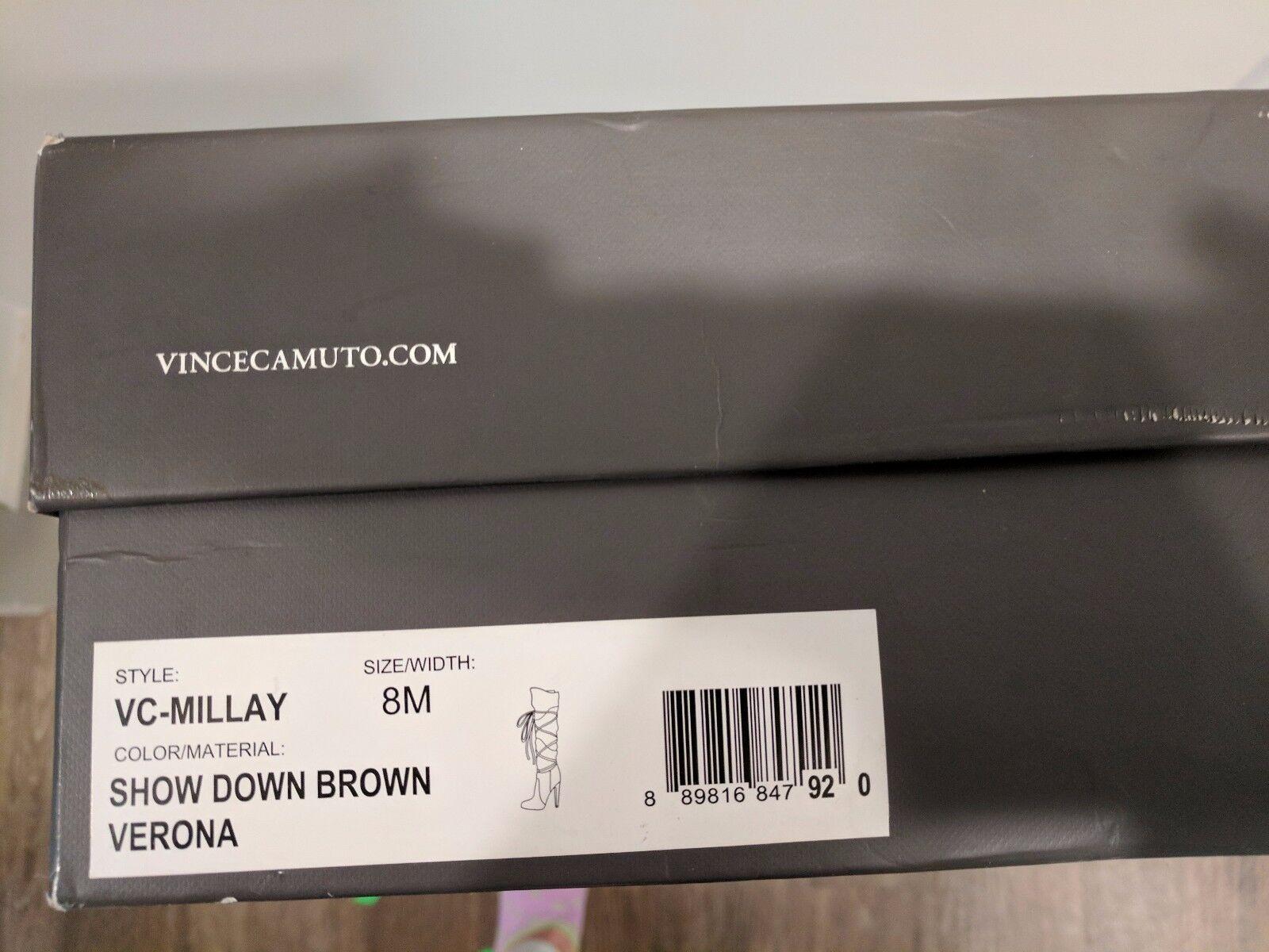 negozio all'ingrosso Donna  stivali stivali stivali - Vince Camuto - Dimensione 8M - Show Down Marrone Verona  spedizione veloce a te