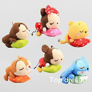 TSUM-TSUM-4-3-034-Mickey-Minnie-Mouse-Stitch-Peluche-giocattolo-morbido-bambola-peluche-figure-6x