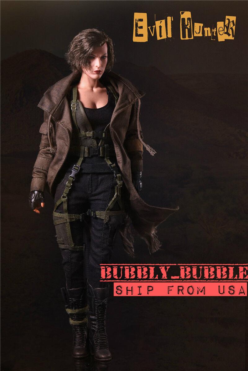 1/6 Resident Evil The Final Chapter Alice Milla Jovovich Figure Full Set USA