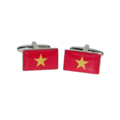 Vietnam Flag Tie Pin with free organza pouch