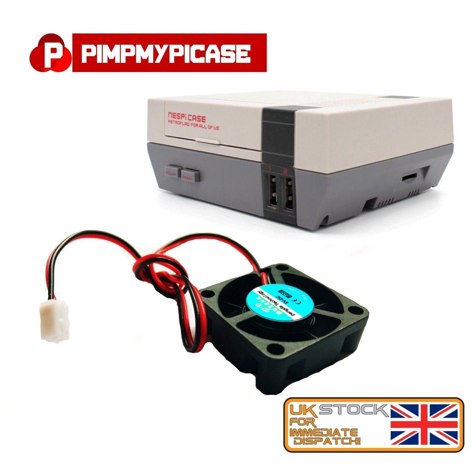 5v Cooling Fan For Retroflag Nespi Case Raspberry Pi Simple Install