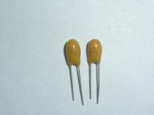 50pcs 25V 22uF 25V Radial DIP Tantalum Capacitor