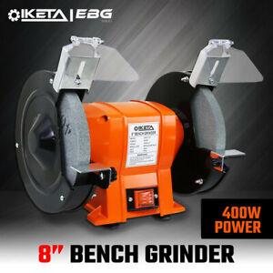 "8"" Bench Grinder Electric Power Tool 200mm Sharpener Industrial Workshop 400W"